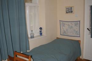 Blue room - Faluvégi Guesthouse, Mándok, Hungary