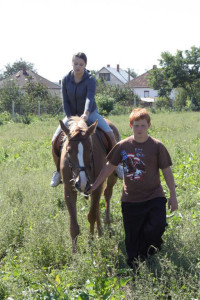 Horse riding - Mándok, Hungary